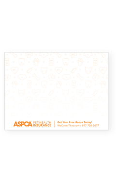 ASPCA® Pet Insurance Post-it Pads